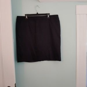 Ann Taylor LOFT skirt, 18, black, lined